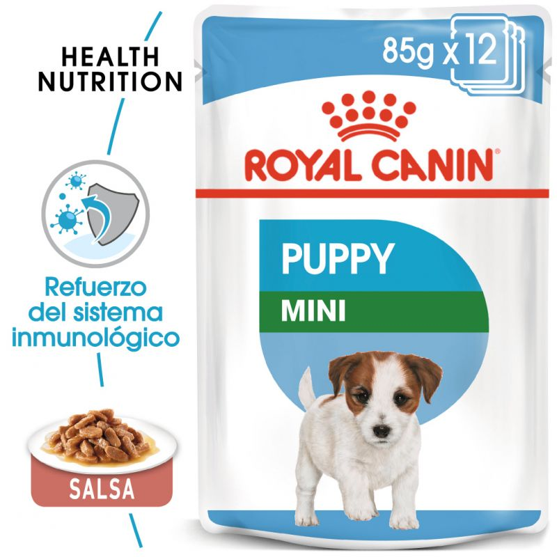 Royal Canin Mini Puppy comida húmeda para perros