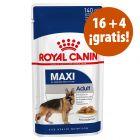 Royal Canin 20 o 24 sobres en oferta: 4 sobres ¡gratis!