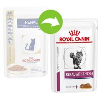 Royal Canin Renal Veterinary Diet comida húmeda para gatos