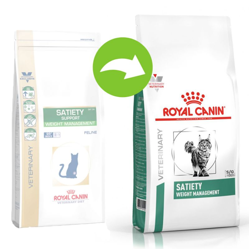 Royal Canin Satiety Support SAT 34 - Veterinary Diet Cat