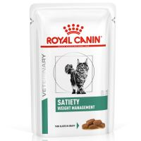 Royal Canin Satiety Weight Management Veterinary Diet sobres para gatos