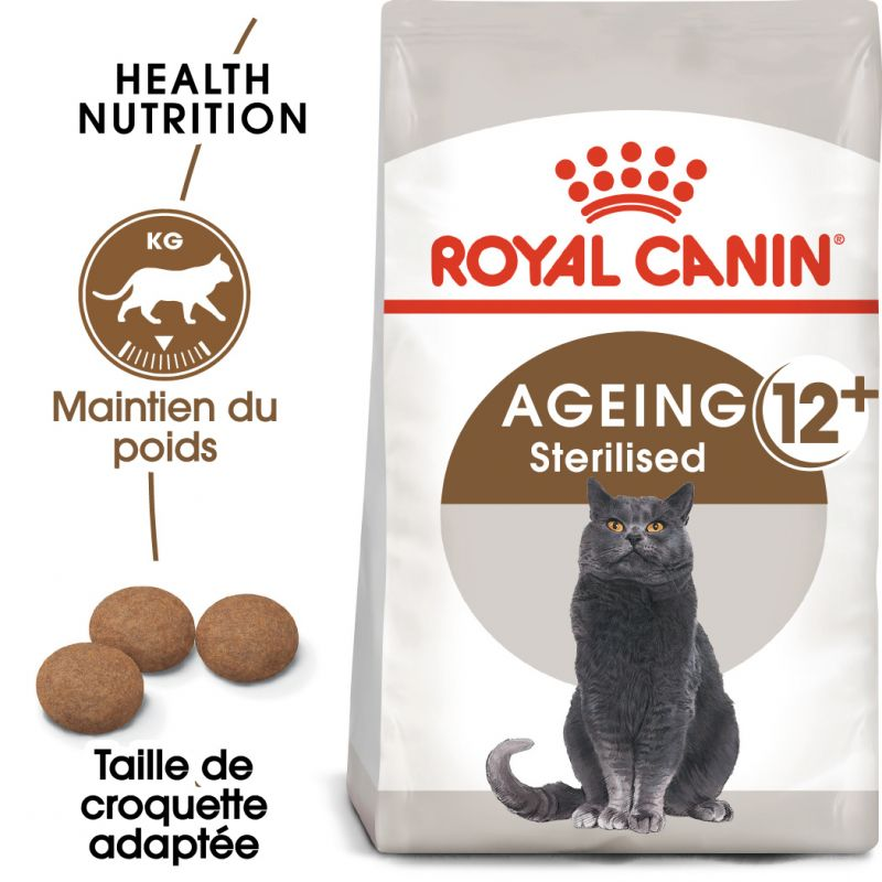 Royal Canin Senior Ageing Sterilised 12+ pour chat