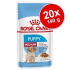Royal Canin Size 24 x 85 g / 20 x 140 g