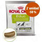Royal Canin snack 2 x 50 g en oferta: 2ª ud. al -50%