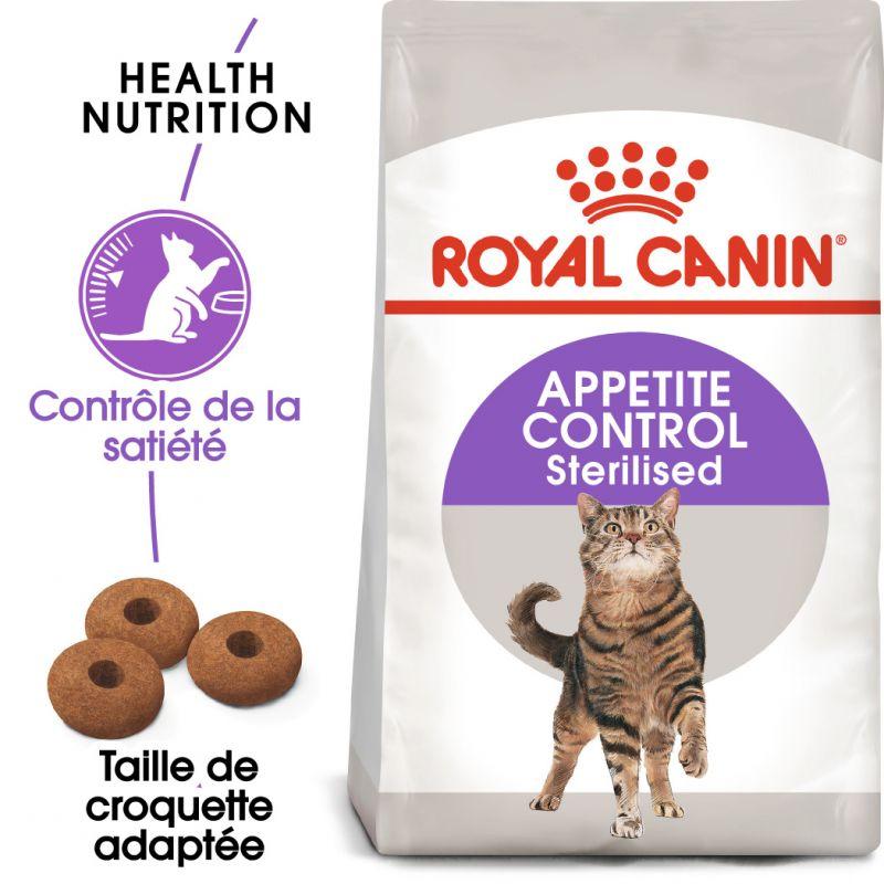 Royal Canin Sterilised Appetite Control pour chat stérilisé