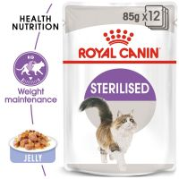 Royal Canin Sterilised aszpikban nedvestáp
