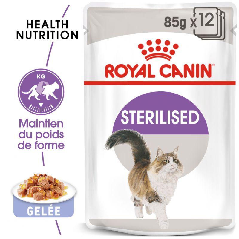 Royal Canin Sterilised en gelée pour chat