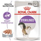 Royal Canin Sterilised Mousse Hrană umedă