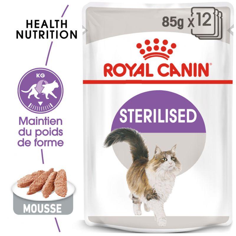 Royal Canin Sterilised Mousse pour chat
