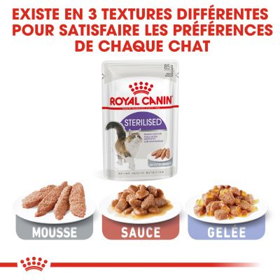 Royal Canin Sterilised Mousse pour chat