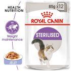Royal Canin Sterilised în gelatină Hrană umedă