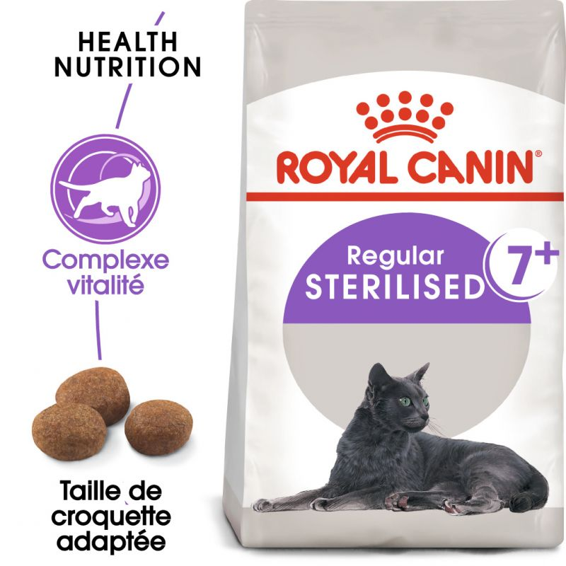 Royal Canin Sterilised7+ pour chat