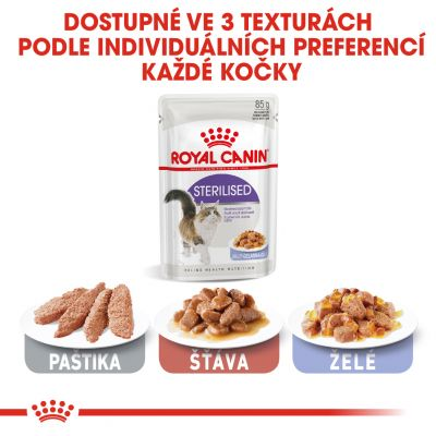 Royal Canin Sterilised v želé