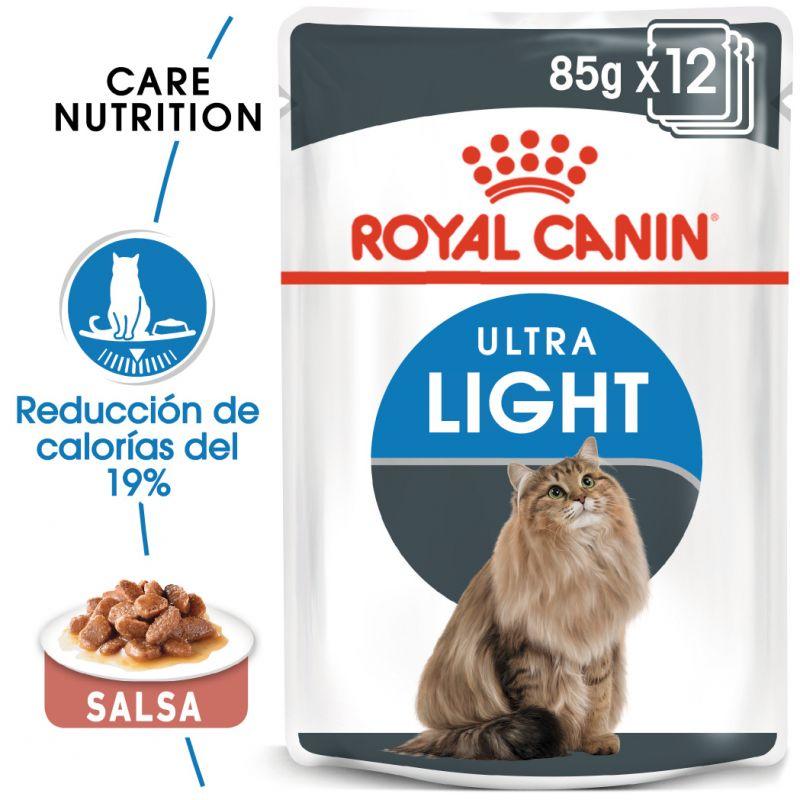 Royal Canin Ultra Light en salsa