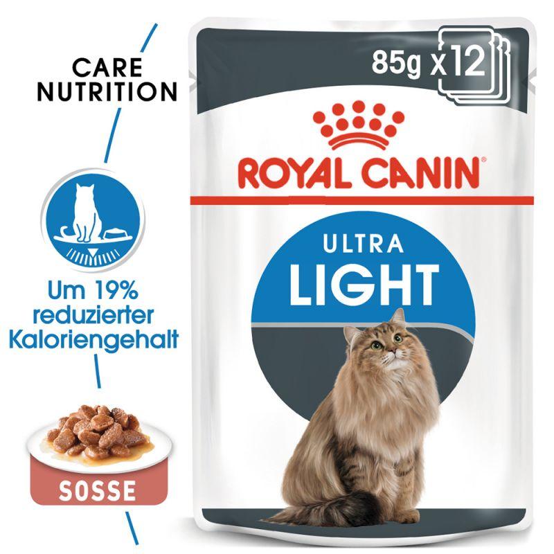 Royal Canin Ultra Light i sås
