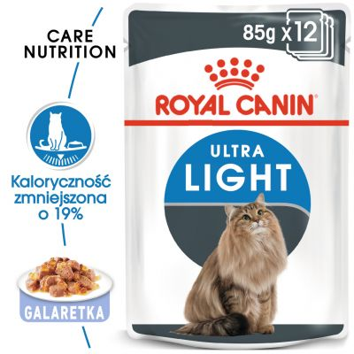 Royal Canin Ultra Light w galarecie