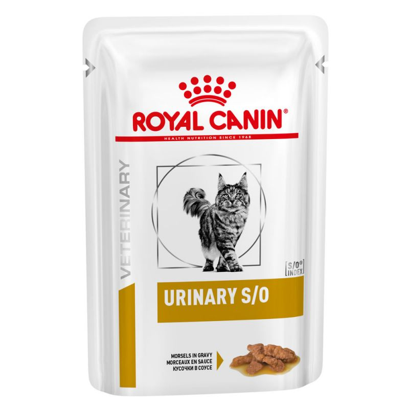 Royal Canin Urinary S/O Veterinary Diet in Mousse