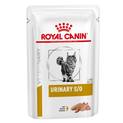 Royal Canin Urinary S/O Veterinary Diet sobres para gatos