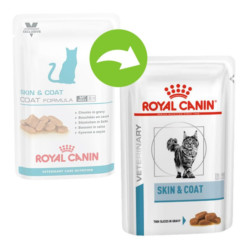 Royal Canin Vet Care Nutrition - Adult Skin & Coat