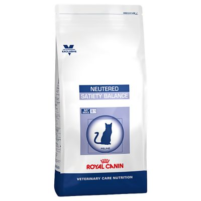 Royal Canin Vet Care Nutrition Neutered Satiety Balance pour chat
