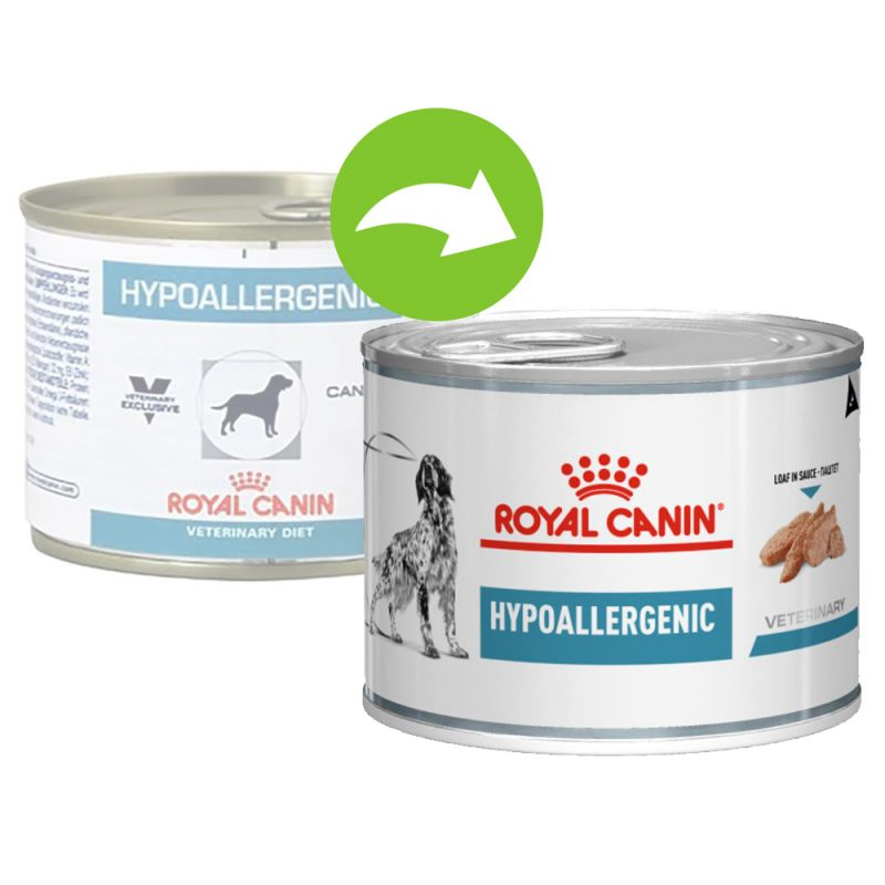 Royal Canin Veterinary Diet Canine Hypoallergenic w puszkach