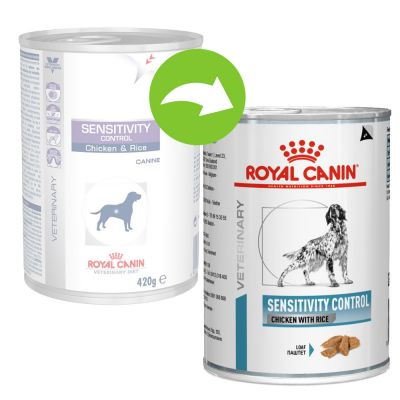 Royal Canin Veterinary Diet Canine Sensitivity Control csirke & rizs