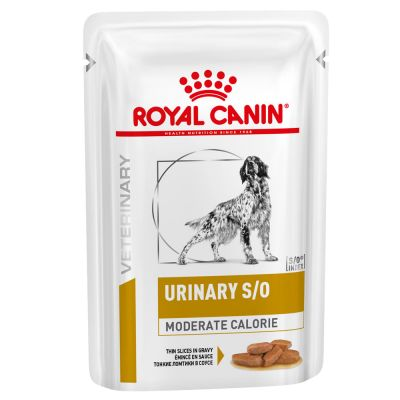 Royal Canin Veterinary Diet Canine Urinary S/O Moderate Calories, saszetki