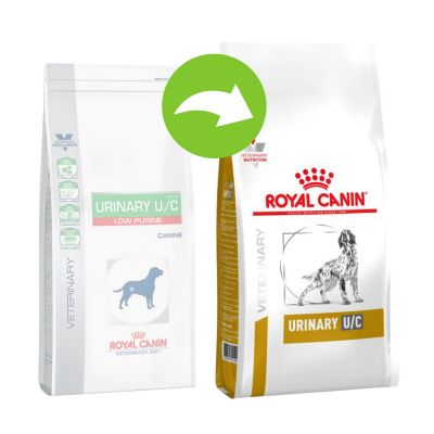 Royal Canin Veterinary Diet Canine Urinary U/C low purine