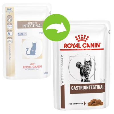 Royal Canin Veterinary Diet Wet Cat Food Gastro Intestinal