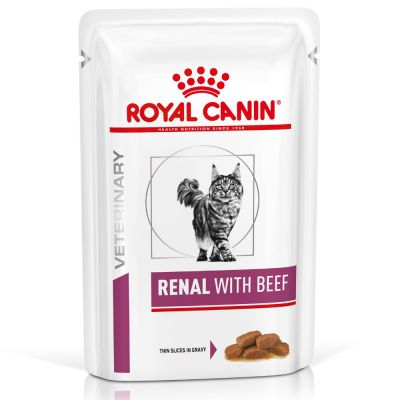 Royal Canin Veterinary Diet Cat - Renal with Beef