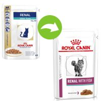 Royal Canin Veterinary Diet Cat – Renal with Fish