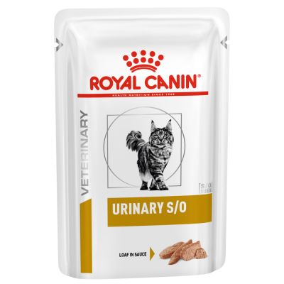 Royal Canin Veterinary Diet Cat – Urinary S/O LP 34 Loaf in Sauce