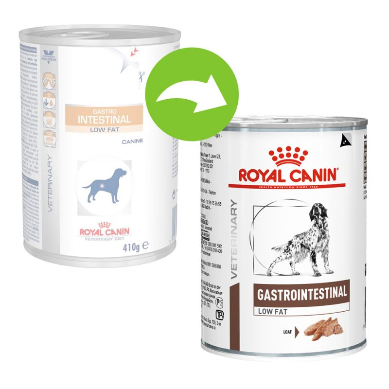 royal canin diet low fat