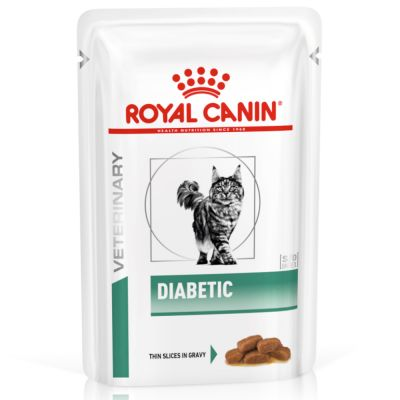 Royal Canin Veterinary Diet Feline Diabetic Pouches