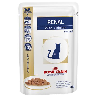 Royal Canin Veterinary Diet Feline Renal Pouches Multibuy