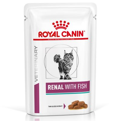 Royal Canin Veterinary Diet Feline Renal Pouches with Fish