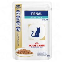Royal Canin Veterinary Diet Feline Renal Pouches with Tuna