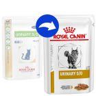 Royal Canin Veterinary Diet Feline Urinary S/O, kawałki w sosie