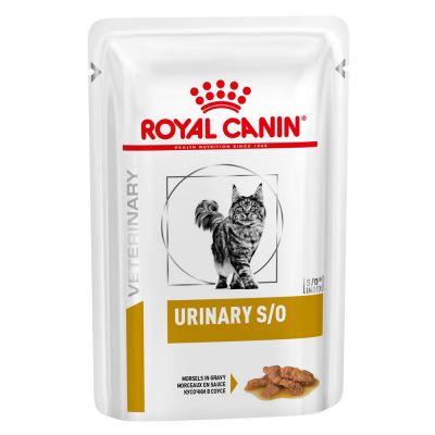 Royal Canin Veterinary Diet Feline Urinary S/O, kawałki w sosie