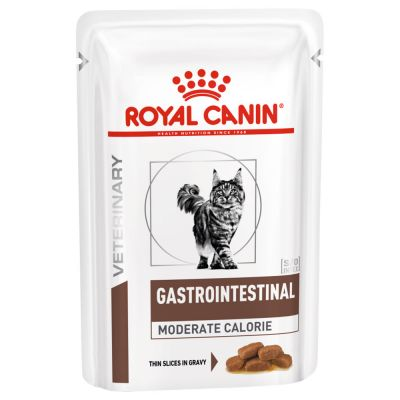 Royal Canin Veterinary Diet Gastro Intestinal Moderate Calorie pour chat