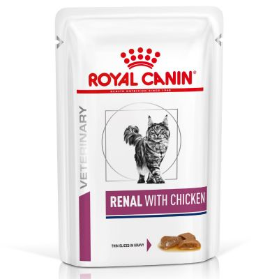 Royal Canin Veterinary Diet Renal, poulet pour chat