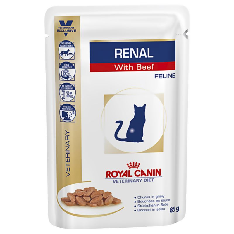 Royal Canin Veterinary Diet - Renal with Beef