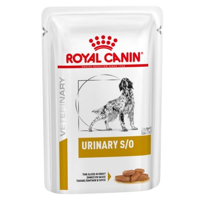 Royal Canin Veterinary Diet Urinary S/O en sauce pour chien