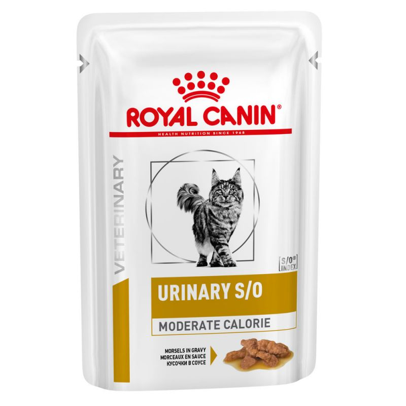 Royal Canin Veterinary Diet Urinary S/O Moderate Calorie pour chat