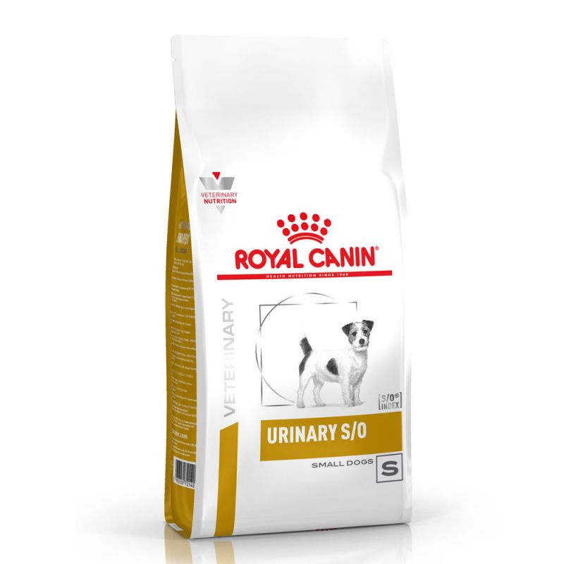 Royal Canin Veterinary Diet Urinary S/O Small Dog pour chien