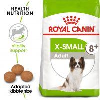 Royal Canin X-Small Adult 8 + Hrană uscată