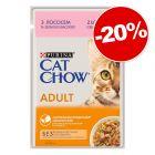 Sachets Cat Chow 26 x 85 g pour chat : 20 % de remise !