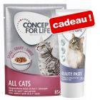 Sachets Concept for Life 24 x 85 g + 75 g de pâte Concept for Life Beauty offert !