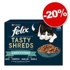 Sachets Felix Succulent Grill 12 x 80 g pour chat : 20 % de remise !