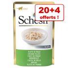 Sachets Schesir 20 x 85g + 4 sachets offerts !